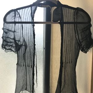 Max Studio see through top
